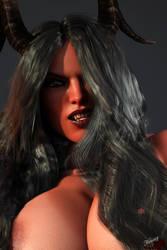 Closeup of Reworked demon by Nuriaz