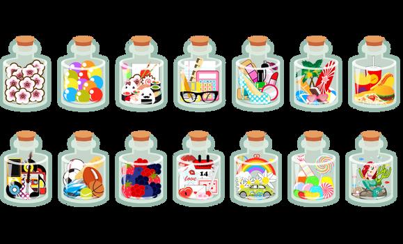 In A Bottle Designs