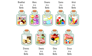 In a Bottle Designs II
