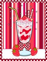 Strawberry Milkshake by MidniteHearts