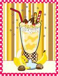 Banana Creme Milkshake