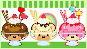 Beary Sweet Ice Cream by MidniteHearts