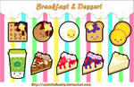 Breakfast and Dessert Charm Designs