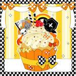 Ultimate Halloween Cupcake by MidniteHearts