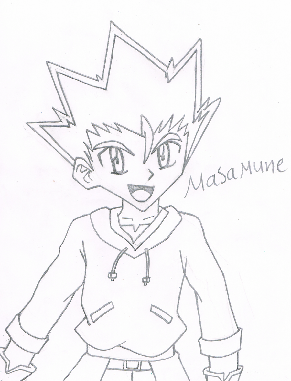 Masamune Sketch By Sara Tarek On Deviantart