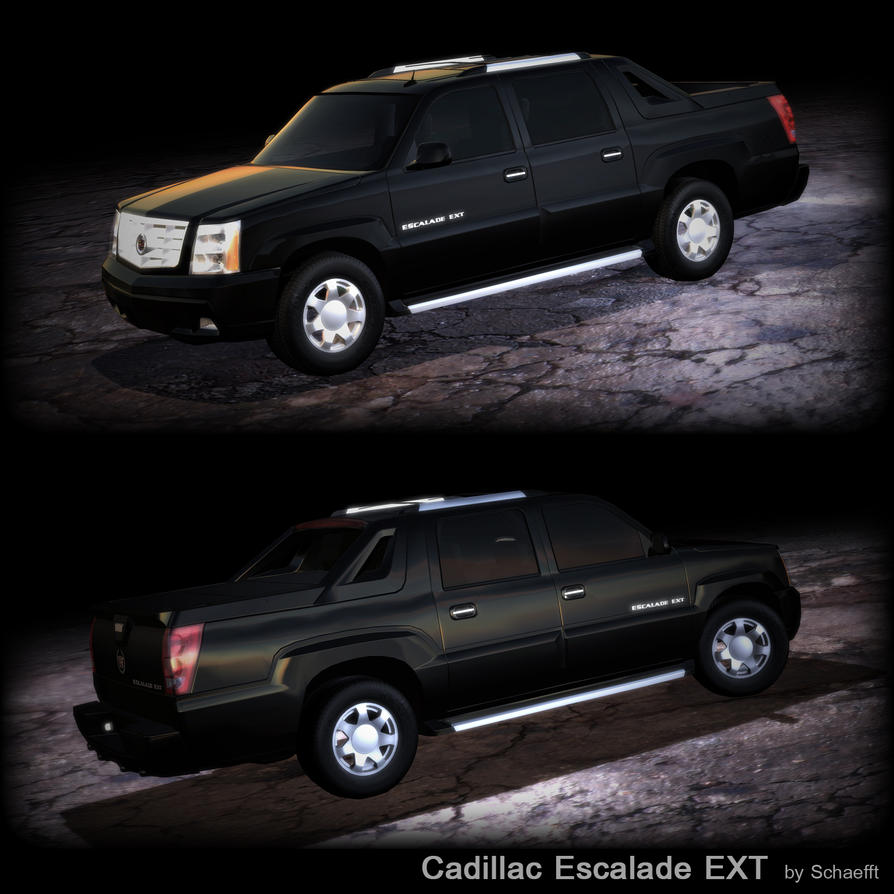 2003 cadillac escalade ext by schaefft on deviantart. Black Bedroom Furniture Sets. Home Design Ideas