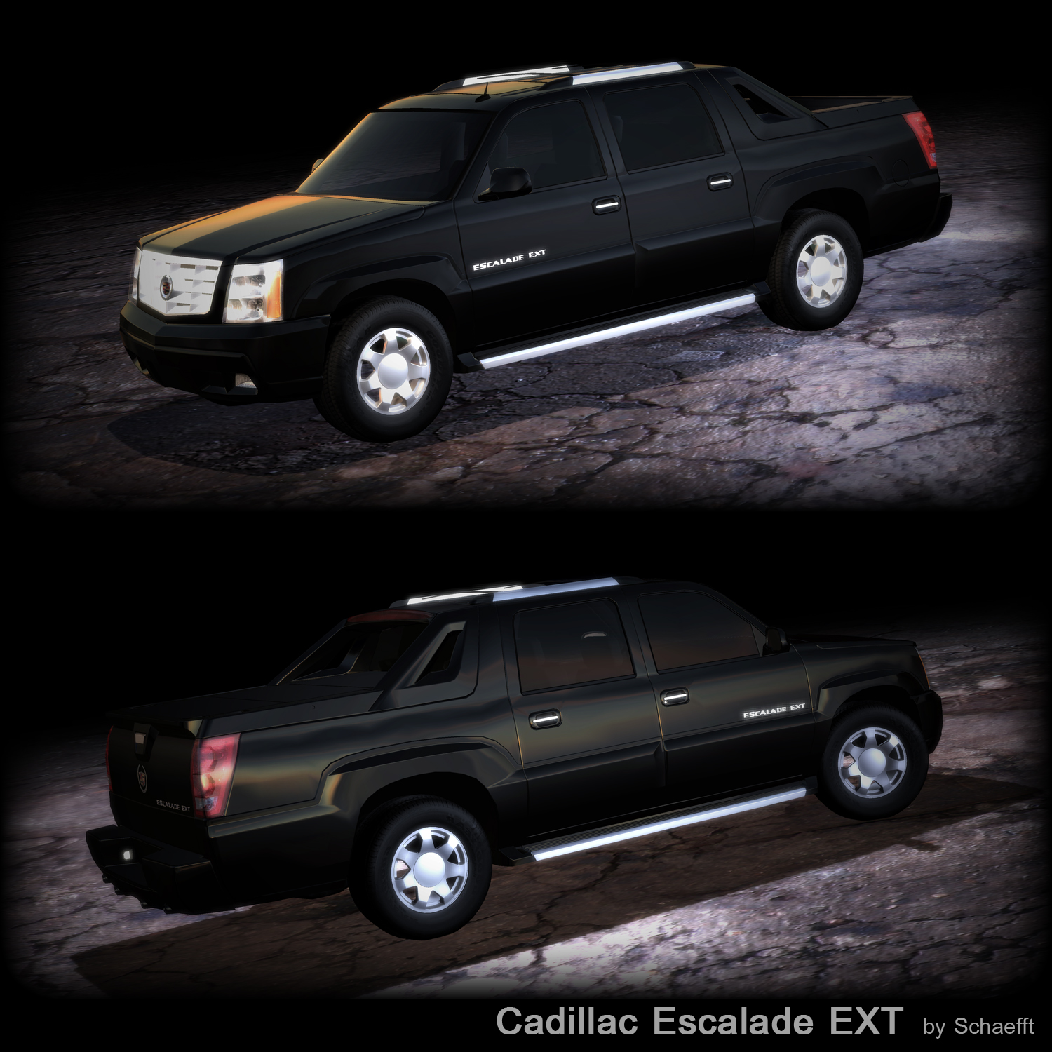 Cadillac Escalade Ext Used: 2003 Cadillac Escalade EXT By Schaefft On DeviantArt