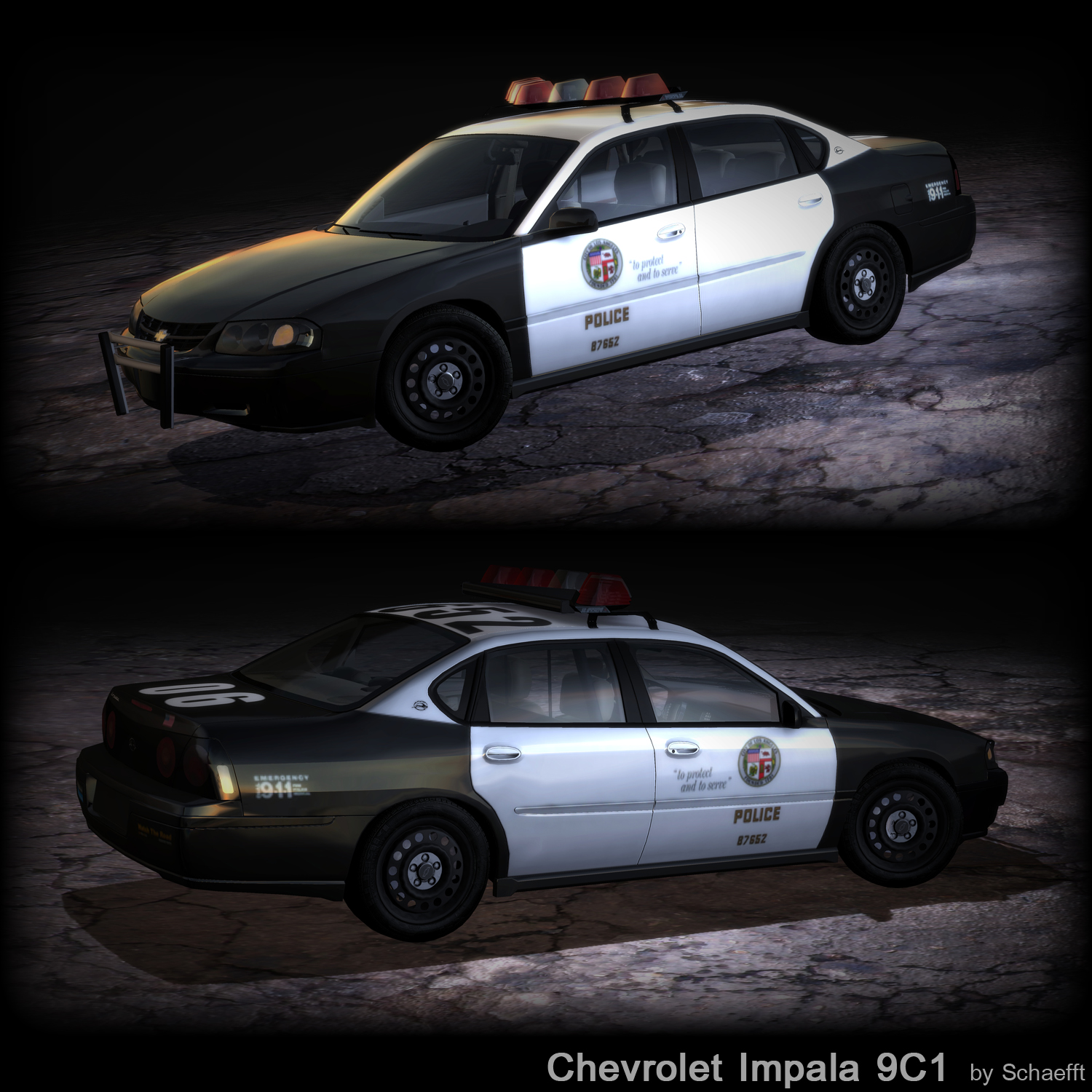 Chevy Impala 9C1 by Schaefft