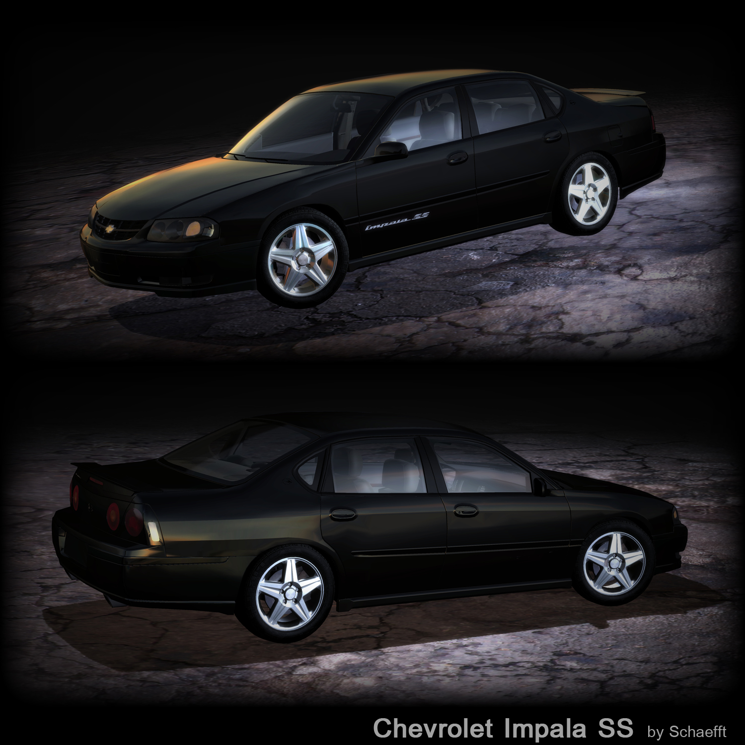 chevy impala ss by schaefft on deviantart. Black Bedroom Furniture Sets. Home Design Ideas