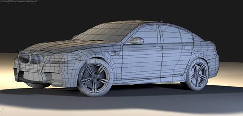 2012 BMW F10 M5_wire1 by Schaefft