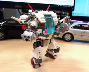 D.Va Lego Meka White Rabbit by Schaefft