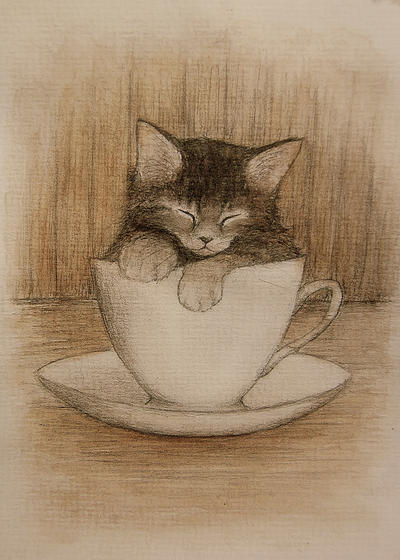 coffee break by moussee