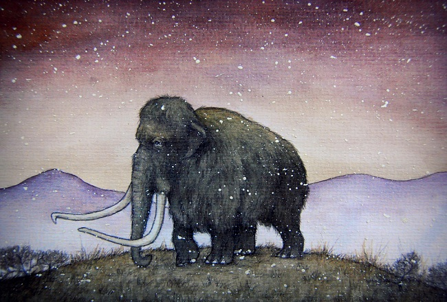 the last mammoth by moussee