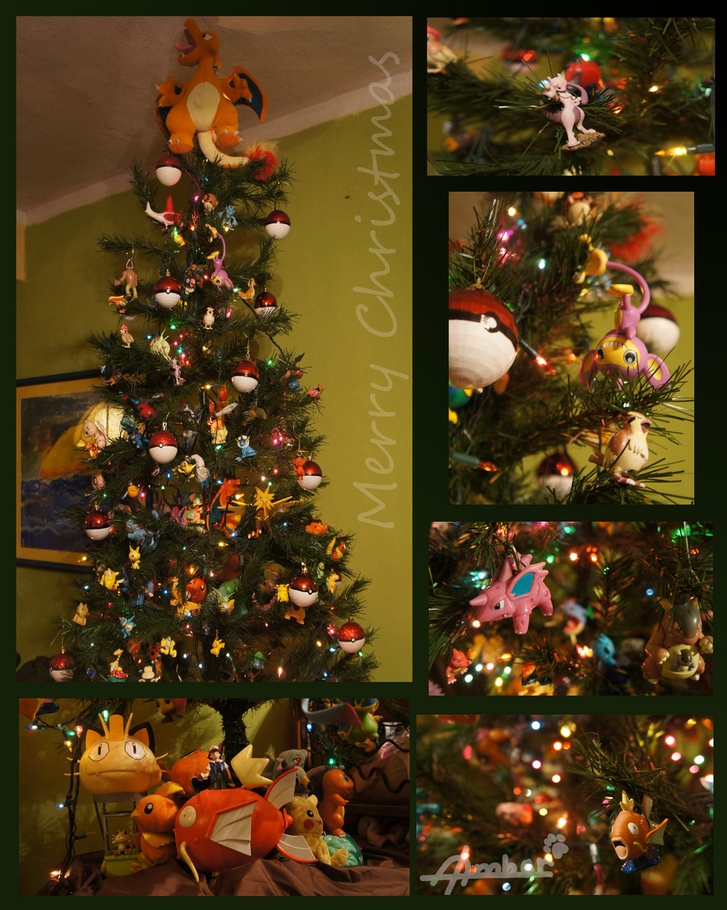 Pokemon christmas tree by dragonperro96 on DeviantArt