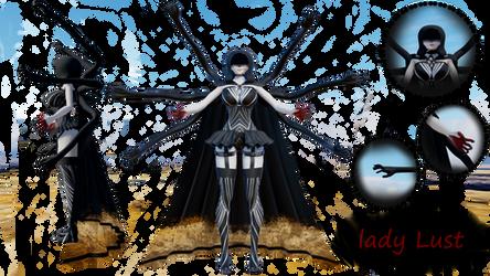 MoTME entry: Lady Lust (fixed) by AkumaKay