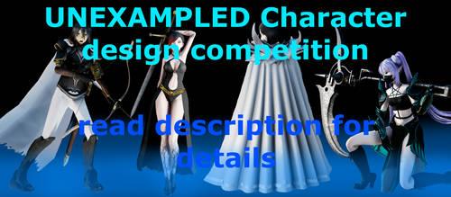 {MMD} UNEXAMPLED Kimi Oyama character competition by AkumaKay