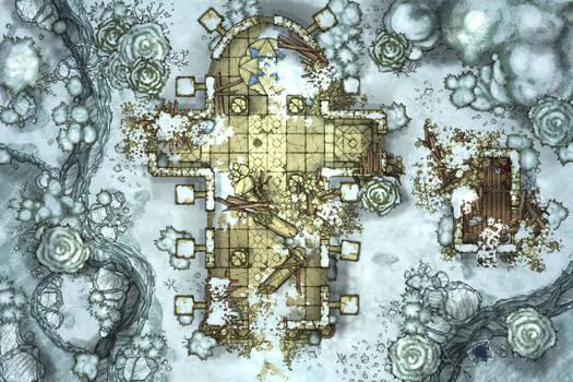 Ruin-Snow
