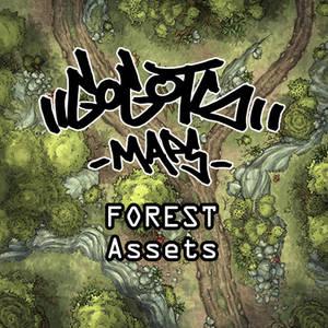 Forest Assets for battlemap!