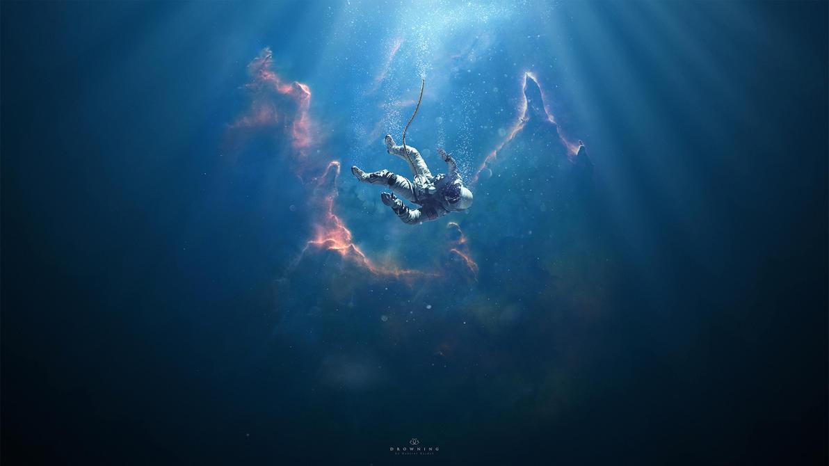 Drowning by GabrielGajdos