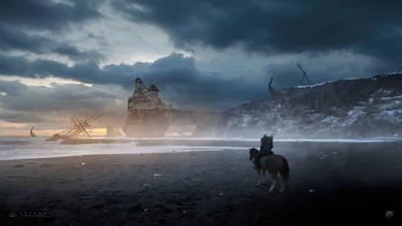 The Witcher: Stygga by GabrielGajdos