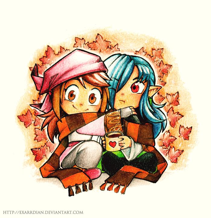 Autumn Cozy by Exarrdian