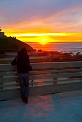 Waiting At Sunset
