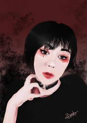 Female portrait - Commission