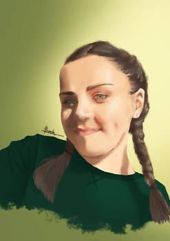 Female portrait 2 - Commission