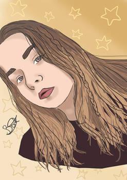 Female portrait 4 - Commission