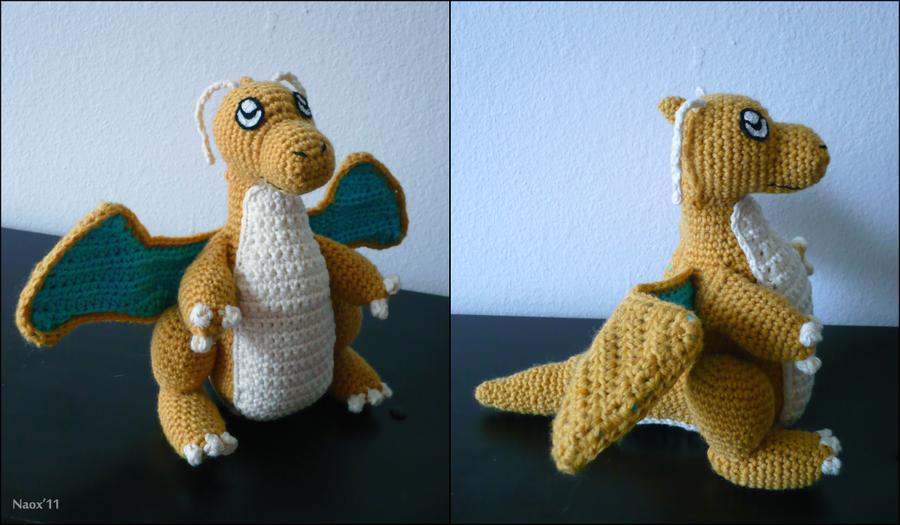 Dragonite Doll by naox on DeviantArt