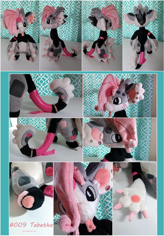 Tabetha Monster Plush by naox