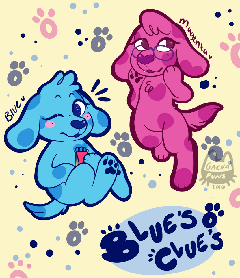 blues clues by gachapuns on deviantart