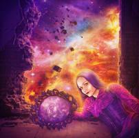 Cosmos Inside Me by IvannaDark
