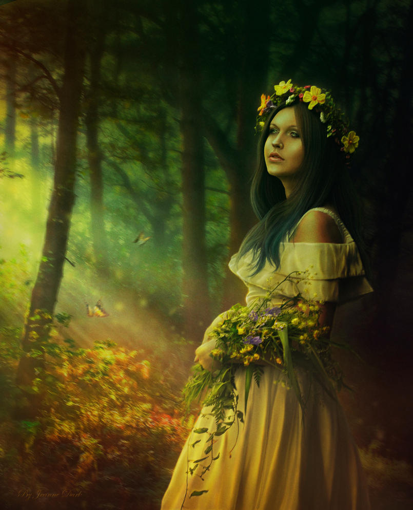 Recalling the Summer by IvannaDark