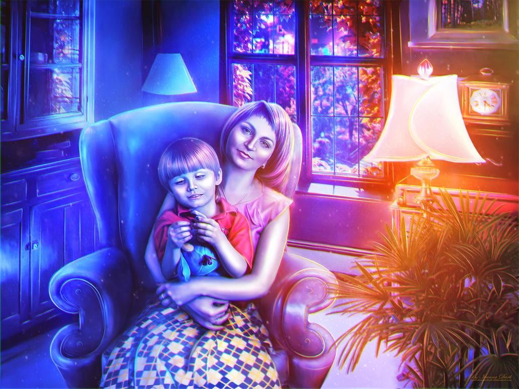 Silent Evening by IvannaDark