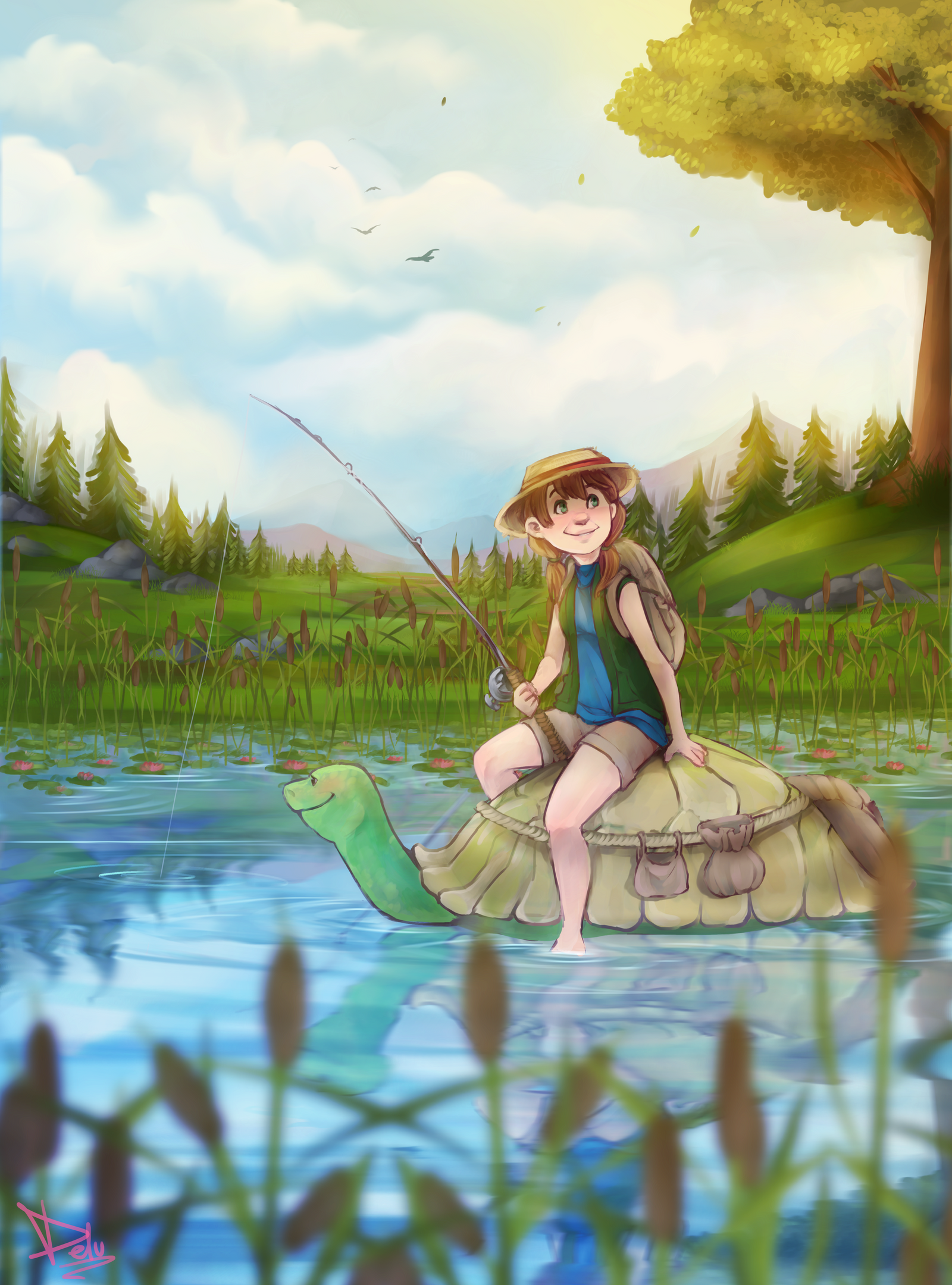 ''What a beautiful day!'' by Maxxie-Delu
