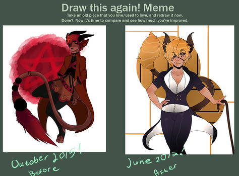 Before And After with demons
