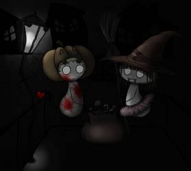 Halloween by PigInPJs