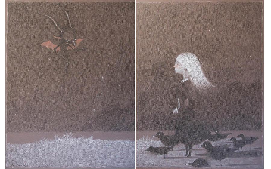 el diablo los pajaros y yo by tonysandoval