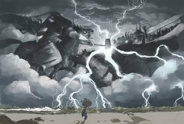 doom storm by tonysandoval