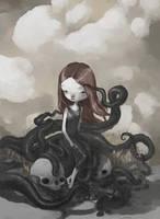 el misterio de la chica pulpo by tonysandoval