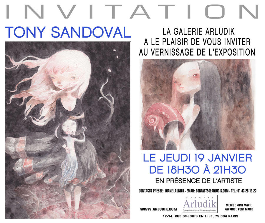 expo arludik by tonysandoval