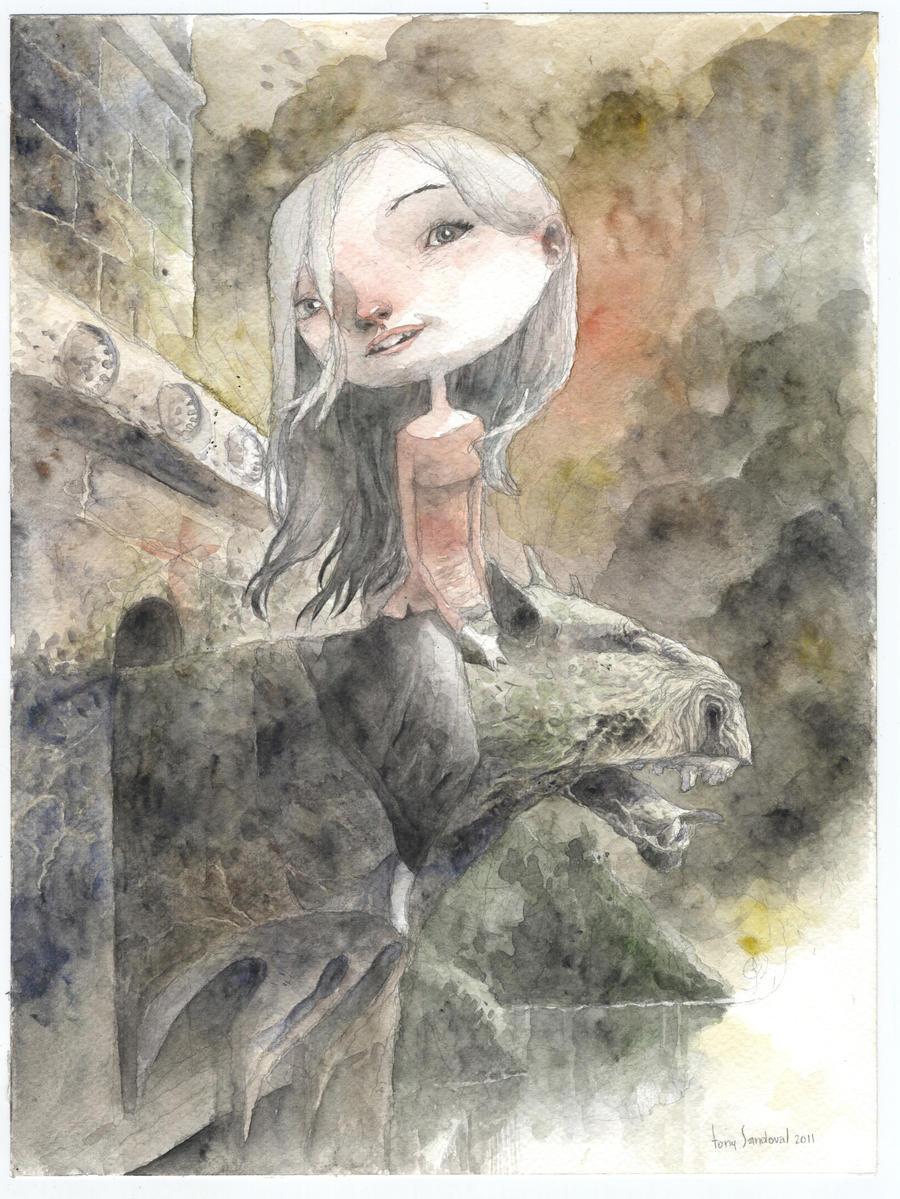 gargola by tonysandoval