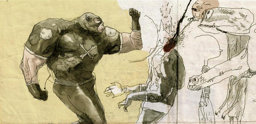 la vida secreta de los superheroes by tonysandoval