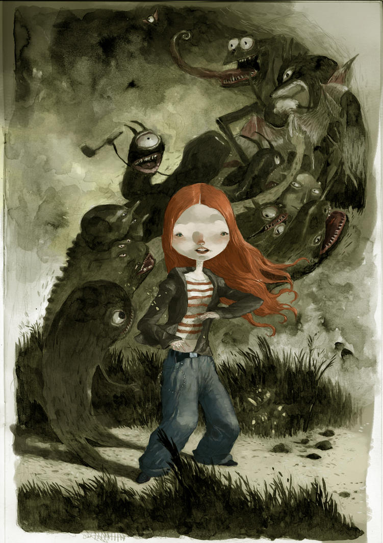 15th monster by tonysandoval