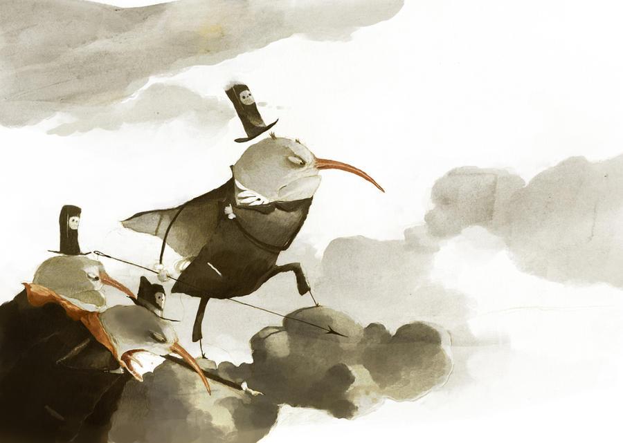 piratas de las nubes by tonysandoval