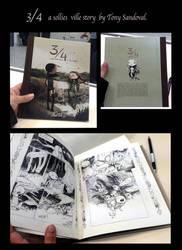 3/4 comic by tonysandoval