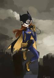 bat girl by tonysandoval