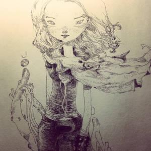 sofa ink by tonysandoval