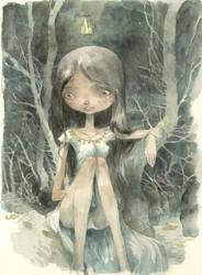 girl by tonysandoval